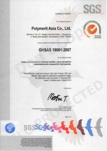 Polymerit Asia OHSAS 18001-2007V2021